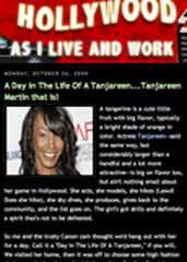 Tanjareen Martin Hollywood article photo